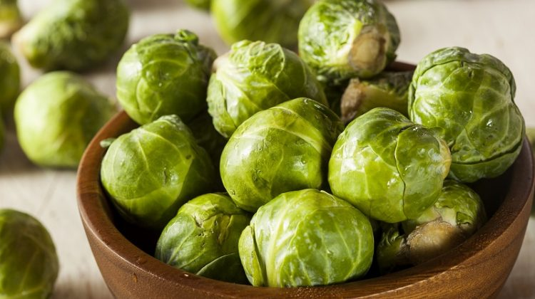 Organic Green Brussels Sprouts Ready to Cook