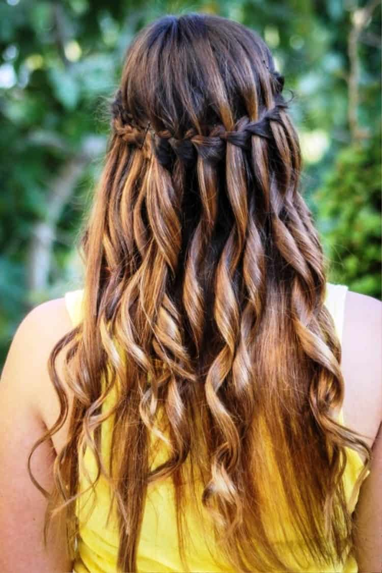 waterfall braid easy ways to do your hair