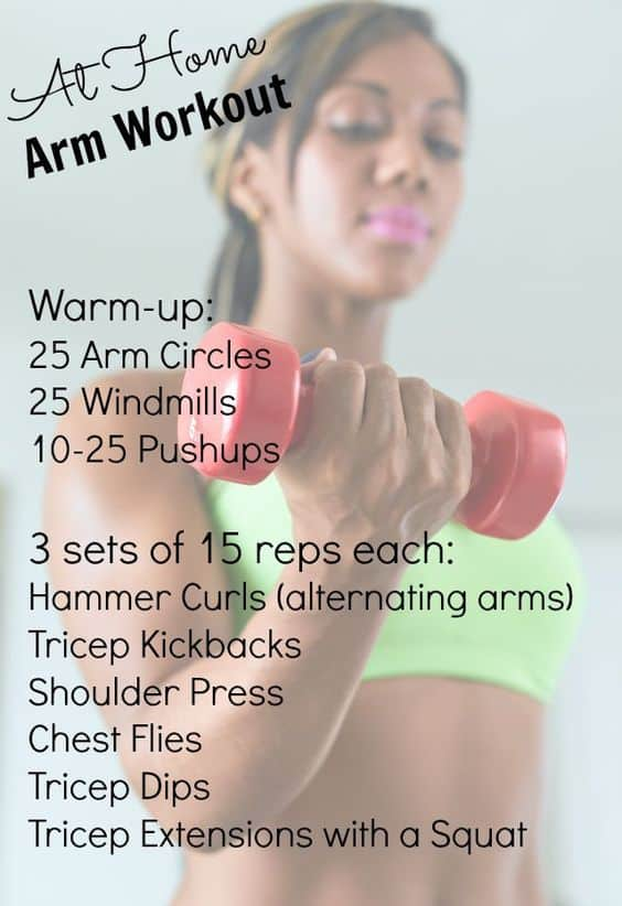 arm workout for bigger arms