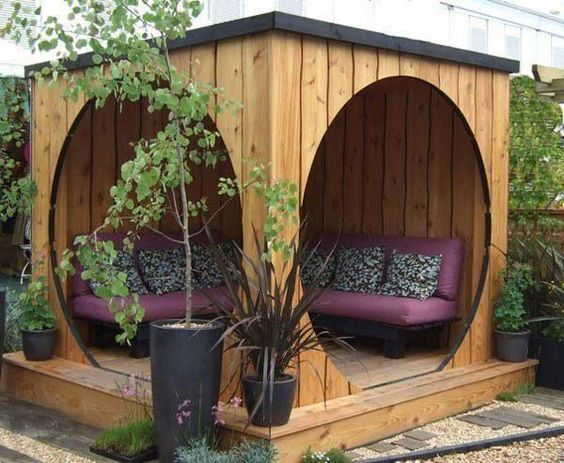 cheap privacy backyard landscaping ideas