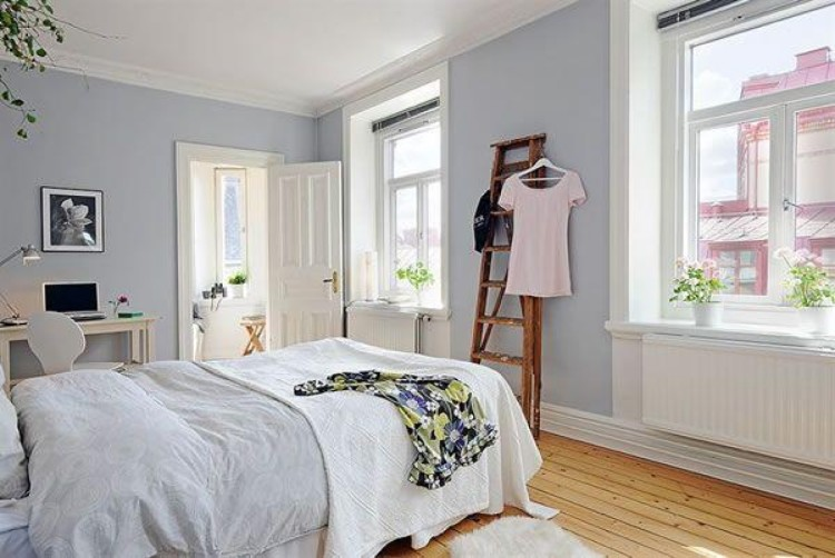 cheap ways to decorate a bedroom with potted plants