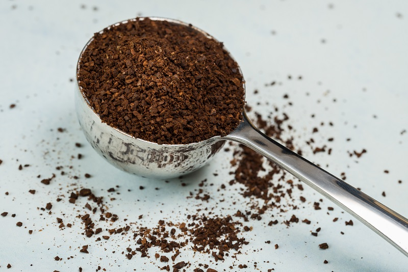 Ground Coffee to remove odors
