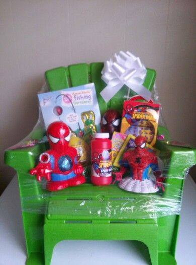 easy ways to make a gift basket