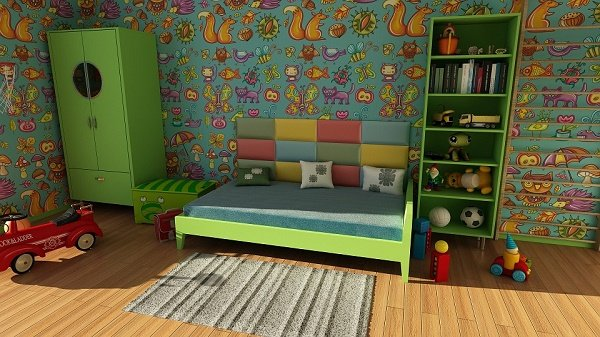 easy ways to add storage to kids rooms