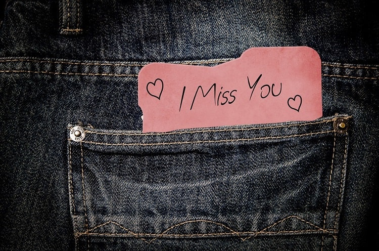 easy ways to make a man miss you