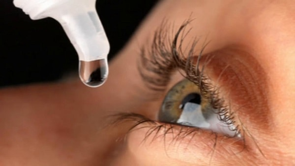 eye drops and artificial tears for computer eye strain relief