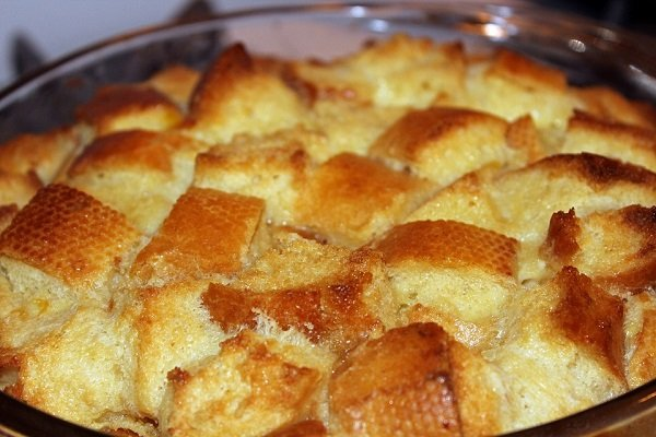 gingersnap bread pudding recipe