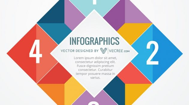 infographic colorful design. Free Vector Downloading at Vecree.com