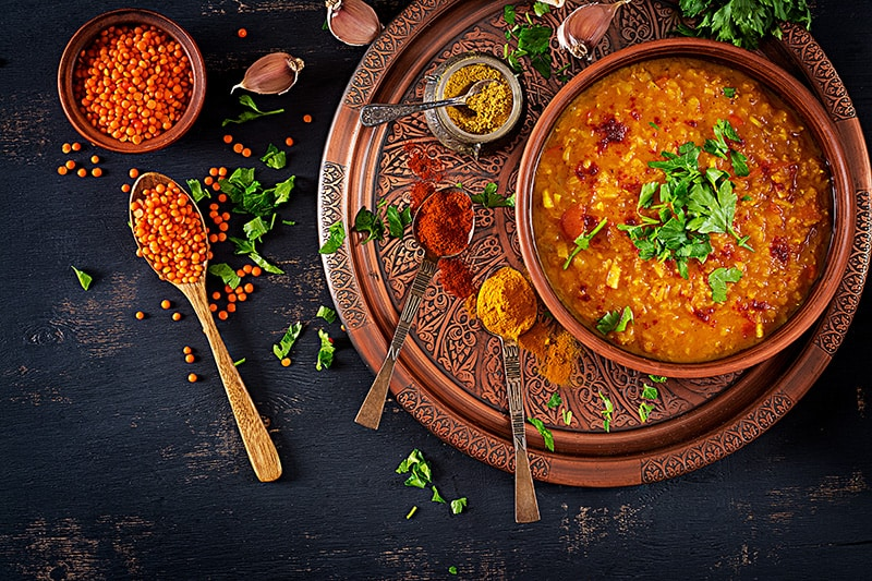 Traditional Indian dal dish