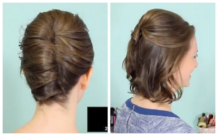 messy twist for easy ways to do your hair