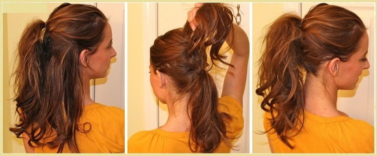 easy ways to do your hair double pony