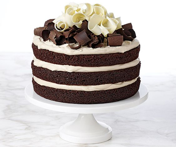 easy ways to decorate a cake with chocolate curls