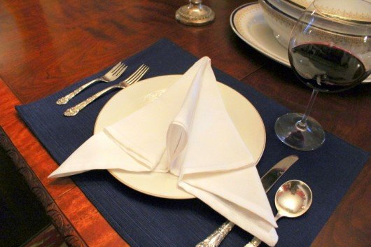step by step napkin folding techniques