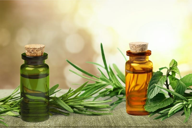 tea tree oil to deodorize