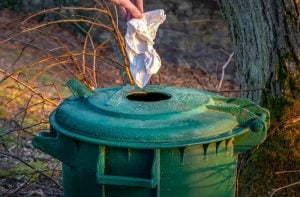 ways to get rid of garbage at home