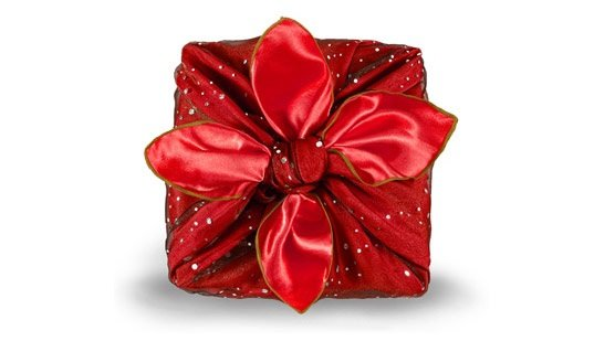 ways to wrap a gift without a box