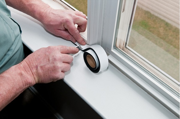weather-stripping easy ways to seal air leaks in the house